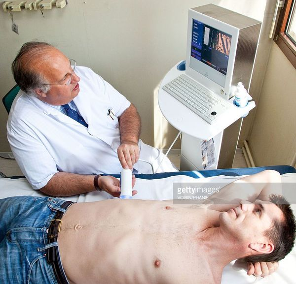 Оценка состояния печени при помощи аппарата FibroScan