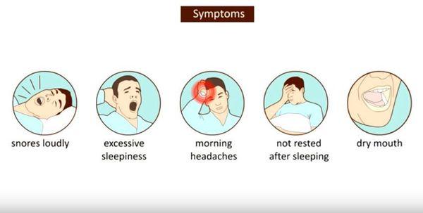 Симптомы апноэ во сне