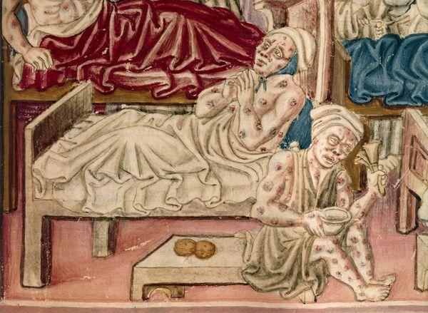 Больные чумой (средневековая живопись)