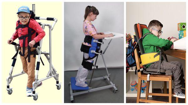 Ходунки, тутор, опора для сидения для детей с ДЦП