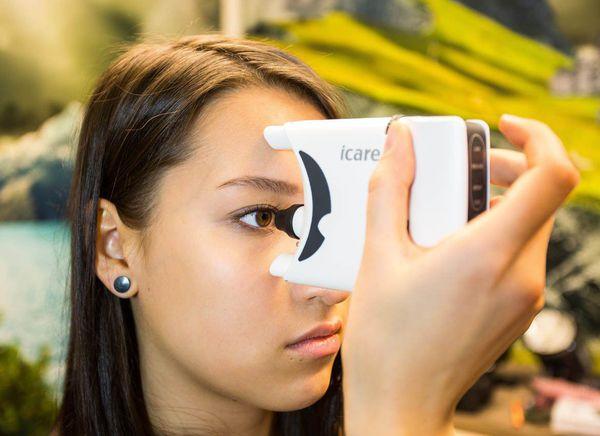 Аппарат ICare® HOME для самостоятельного измерения внутриглазного давления