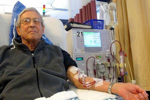 Внепочечное очищения крови при помощи гемодиализа