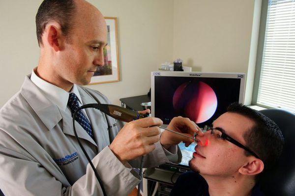 Эндоскопия носовых ходов