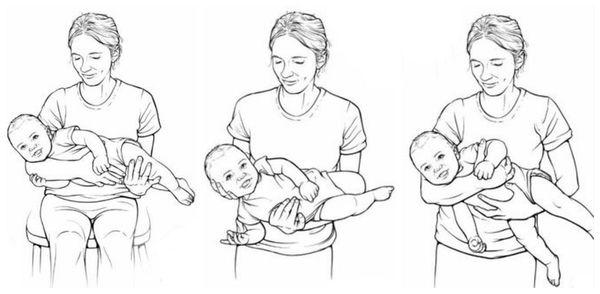 Как правильно держать ребёнка с кривошеей