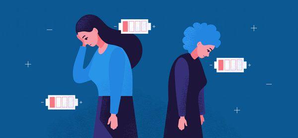 Синдром дереализации–деперсонализации может проявится на фоне сильной усталости