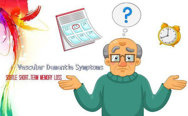 Когнитивные нарушения при сосудистой деменции